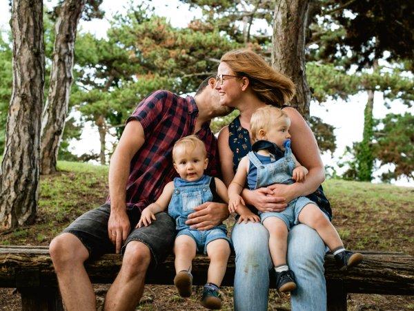 Anett és családja