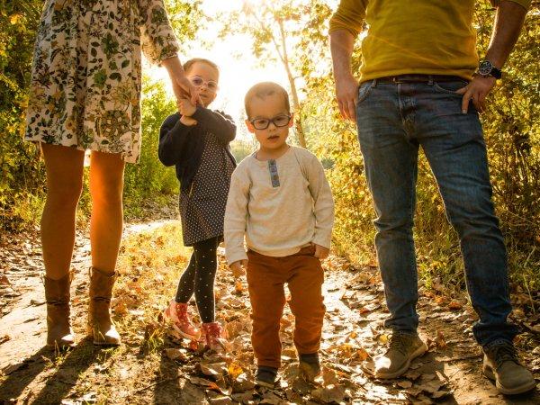 Eszter és családja