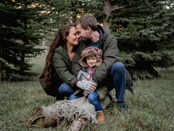 Cintia és családja