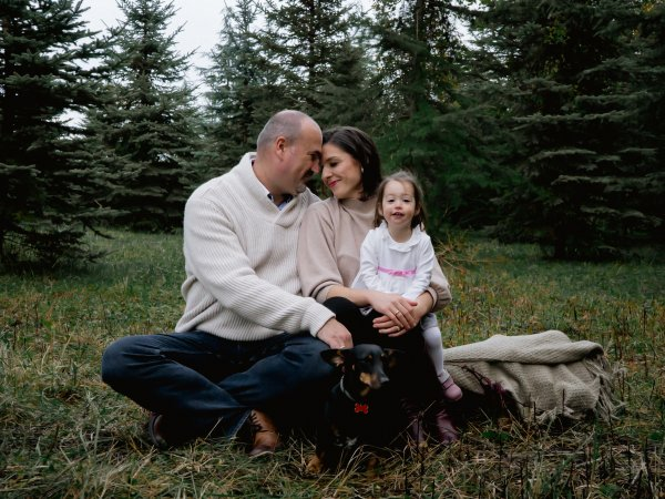 Johanna és családja